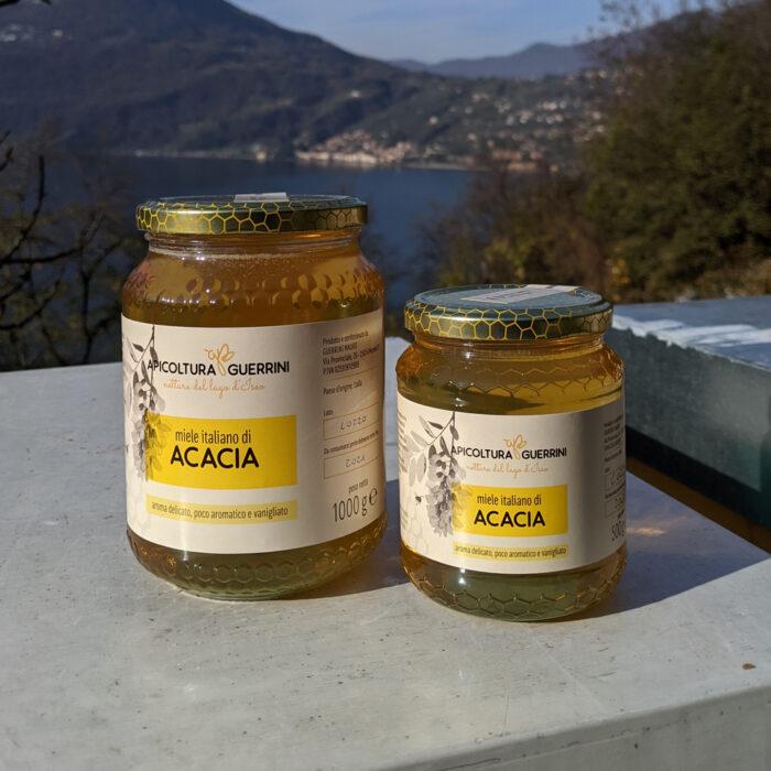 Miele italiano acacia apicoltura Guerrini