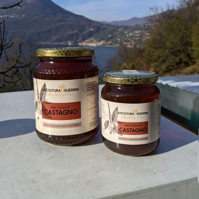Miele italiano castagno apicoltura Guerrini