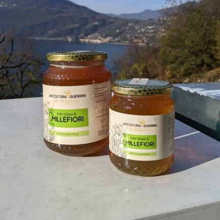 Miele italiano millefiori apicoltura Guerrini
